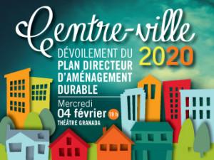 Dévoilement du Plan directeur d'aménagement durable du Centre-ville