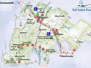 Un portrait de l'offre commerciale du Val-Saint-François
