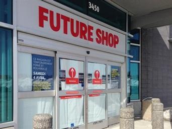 «Future Shop fermé… pour une semaine»