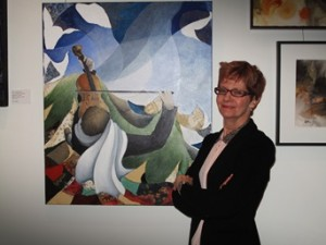 La galerie d'art D'ESCHAMBAULT s'installe au Centro!