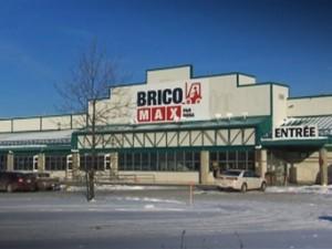 De l'escalade dans l'ancien Brico-Max