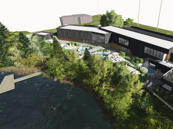 Le Strøm spa nordique officialise la construction du spa à Sherbrooke