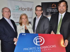 «Un vent de renouveau souffle sur la carte Priorité Sherbrooke»