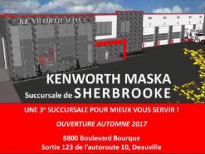 Kenworth Maska injecte 3 M$ dans le secteur Deauville