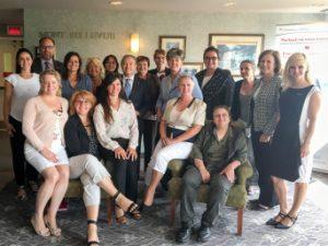 Table ronde sur le rôle et le leadership des femmes dans le commerce international