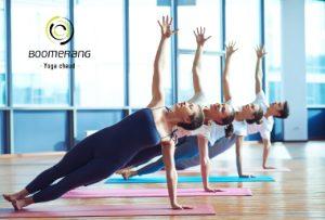 Boomerang Yoga Chaud ouvre ses portes et se joint à un nouveau concept 3 en 1