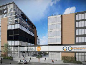 Le consortium privé présente un premier rapport d'étape du projet de construction sur la rue Wellington Sud