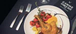Comme chez soi : cuisine généreuse et savoureuse dans une ambiance chaleureuse