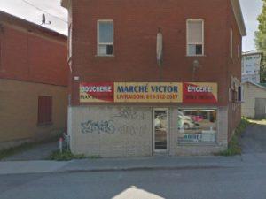Le Marché Victor fermé
