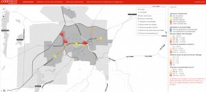 Carte interactive – Données socio-économiques