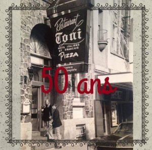 Restaurant Da Toni : 50 ans à servir
